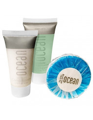 Ocean Collection BNB Amenity Travel Bath and Shower Set (240 Piece)