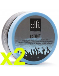 D:fi D:struct Medium Hold Molding Creme with Low Shine 2.6 Ounces (2-Pack Total)