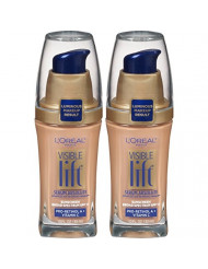 L'Oreal Paris Cosmetics Visible Lift Serum Absolute Foundation, Natural Buff, 1 Fl Oz (2 Count)