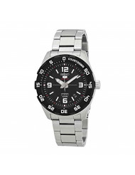 Seiko Men's SRPB81K Silver Stainless-Steel Automatic Fashion Watch