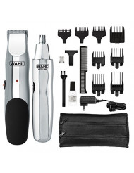 Wahl Model 5622Groomsman Rechargeable Beard, Mustache, Hair & Nose Hair Trimmer for Detailing & Grooming