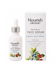 Nourish Organic Age Defence Face Serum, 0.7 Ounce