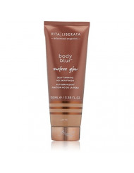 VITA LIBERATA Advanced Organics Body Blur Sunless Glow   Perfects your skin's appearance by minimizing blemishes & smoothing out imperfections   Provides flawless tan   Shade: Latte   3.38 Fl Oz