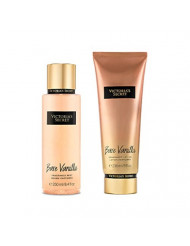Victoria's Secret Bare Vanilla Fragrance Lotion and Body Mist Set