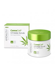 Andalou Naturals CannaCell X.Foliate Scrub, 1.7 Ounces Jar