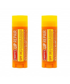 O'Keeffe's Lip Repair SPF 35 Lip Balm, (Pack of 2)