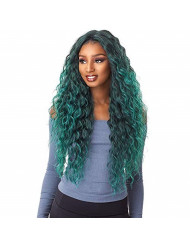 Sensationnel Empress Edge Center Part Lace Front Wig - ANYA (1B [Off Black])