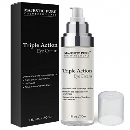 MAJESTIC PURE Triple Action Eye Cream - Reduces the ...