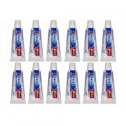 Crest Kid's Cavity Protection Toothpaste, Sparkle Fun, Travel Size 0.85 Ounces (24g) - Pack of 12