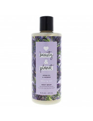 Unilever Love Beauty & Planet Argan Oil & Lavender Body Wash Relaxing Rain 16 Oz