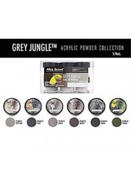 Mia Secret Acrylic Powder - Grey Jungle 6pcs OR Single JAR - 2018 Collection! (Grey Jungle 6 Piece)