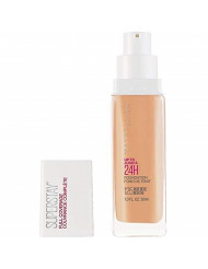 Maybelline New York Super Stay Full Coverage Liquid Foundation Makeup, Nude Beige, 1 Fl Oz