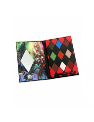 Pop Culture Referenced Eye Shadow Palette Makeup Kits (DC Comics: Harley Quinn and The Skull Bags)