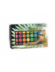 BH Cosmetics Eyeshadow Palette, Take Me Back To Brazil, Rio Edition