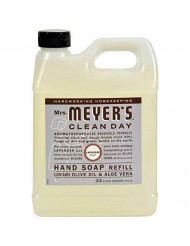 Mrs. Meyers Clean Day Hand Soap Refill, Lavender 33 oz (Pack - 4)