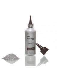 Glimmer Body Art Glitter Tattoo Silver Body Glitter Refill