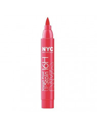 NYC Smooth Proof 16HR Lip Stain - Unstoppable Red