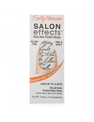 Sally Hansen Salon Effects Real Nail Polish Strips, Love Letter, 16 Count