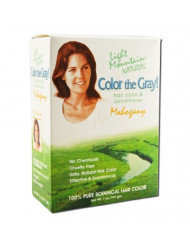 Light Mountain Natural: Color the Gray Conditioner, Mahogany 7 oz