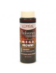 Mega Browns BR1 Cinnamon Permanent Hair Color