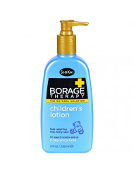 Shikai Borage Dry Skin Therapy Natural Formula Lotion for Childrens - 8 Oz