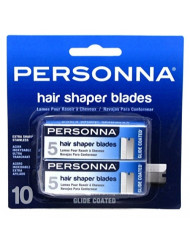 Personna Hair Shaper Blades, 10 Ea, 10count