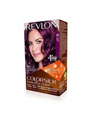 Revlon ColorSilk Beautiful Color, 48 Burgundy 1 ea