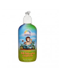 Rainbow Research Organic Herbal Detangling Conditioner for Kids, Creamy Vanilla, 8 Fluid Ounce