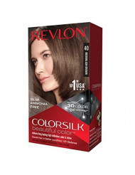 Revlon ColorSilk Haircolor, Medium Ash Brown (40)