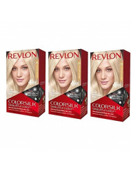 Revlon ColorSilk Beautiful Color, [05] Ultra Light Ash Blonde 1 ea (Pack of 3)