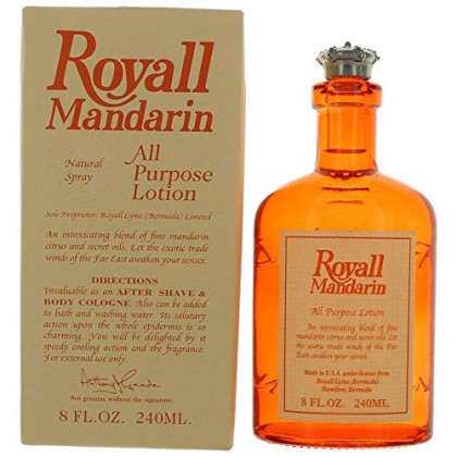 Royall Mandarin By ROYALL FRAGRANCES FOR MEN 8 oz All Purpose Lotion / Cologne