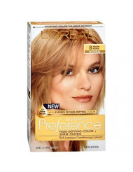 L'Oreal Superior Preference Hair Color 8 Medium Blonde