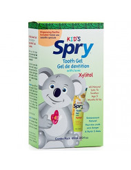 Spry Infant Tooth Gel with Pacifier,