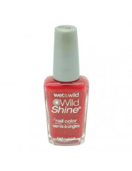Wet n Wild Wild Shine Nail Color 414A Red Red