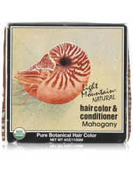 Light Mountain - Hair Color & Conditioner - Mahogany - 4 oz Powder