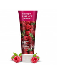 Desert Essence Red Raspberry Shampoo - 8 Fl Ounce - Gloss & Shine Enhancing - Strengthens Hair - Removes Everyday Pollutants - Vitamin A & C - Calcium - Magnesium