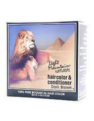 Light Mountain Henna Dark Brown 4 Oz