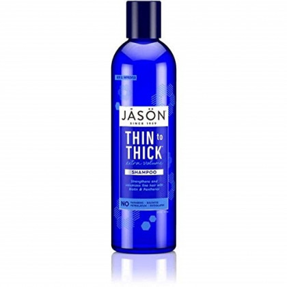Jason Thin-To-Thick Extra Volume Shampoo 8 oz (Pack of 4)