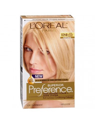 Superior Preference Rich Luminous Conditioning Colorant, Level 3 Permanent, Ultra Natural Blonde/Natural 10NB (Pack of 3)