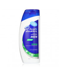 Head and Shoulders Refresh Dandruff Shampoo for Men 23.7 Fluid ounce (Pack of 2)