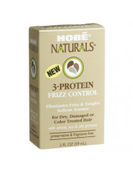 Hobe Naturals 3-protein Frizz Control, 2-Ounce Boxes (Pack of 3)