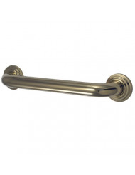 Kingston Brass DR214302 Designer Trimscape Milano 3-Layer Flange 30-Inch Grab Bar with 1.25-Inch Outer Diameter, Polished Brass