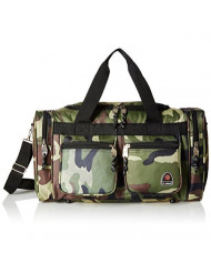 Rockland Duffel Bag, Camouflage, 19-Inch