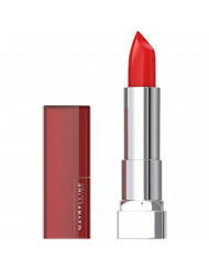 Maybelline New York Color Sensational Red Lipstick, Satin Lipstick, Red Revival, 0.15 Ounce, 1 Count