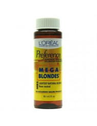 Mega Blondes MB1 Natural Blonde Permanent Hair Color