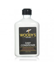 Woody's Daily Conditioner for Men, 12 Ounce