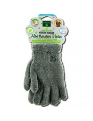 Earth Therapeutics: Aloe Infused Moisture Gloves, Gray
