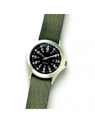 Rothco Military GI Style Quartz Watch with Olive Drab Band