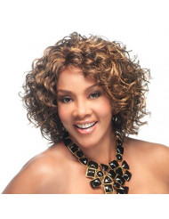 Vivica A. Fox OPRAH-2-V Synthetic Fiber, PS Cap Wig in Color 1
