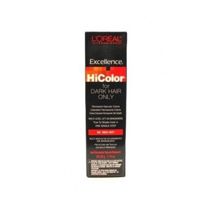 L'Oreal Excellence HiColor Red Hot 1.74 oz. Tube (3-Pack) with Free Nail File